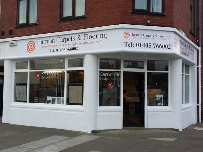 Harman Carpets Shop Front